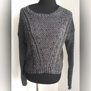 SO cable knit sweater